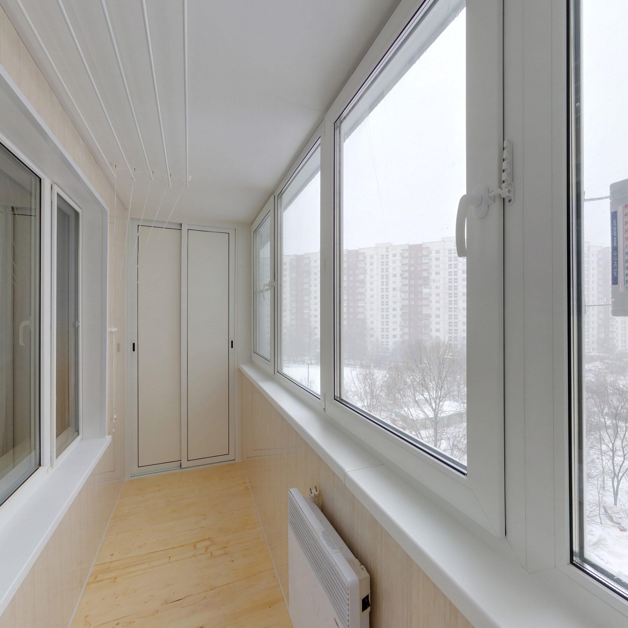 Утепление и остекление балкона пластиковыми окнами цены..