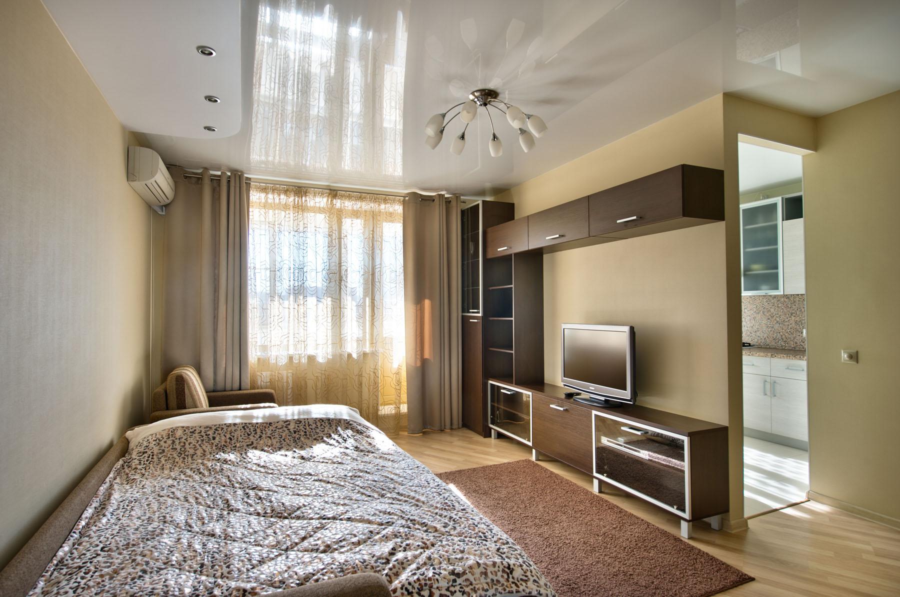 Дизайн двухкомнатной квартиры 100 54