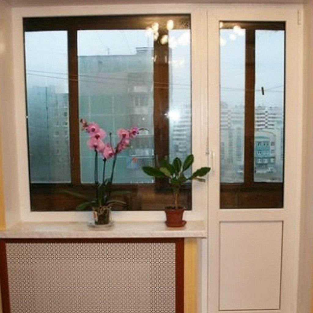 Смотреть видео установки пластикового порога на балкон..