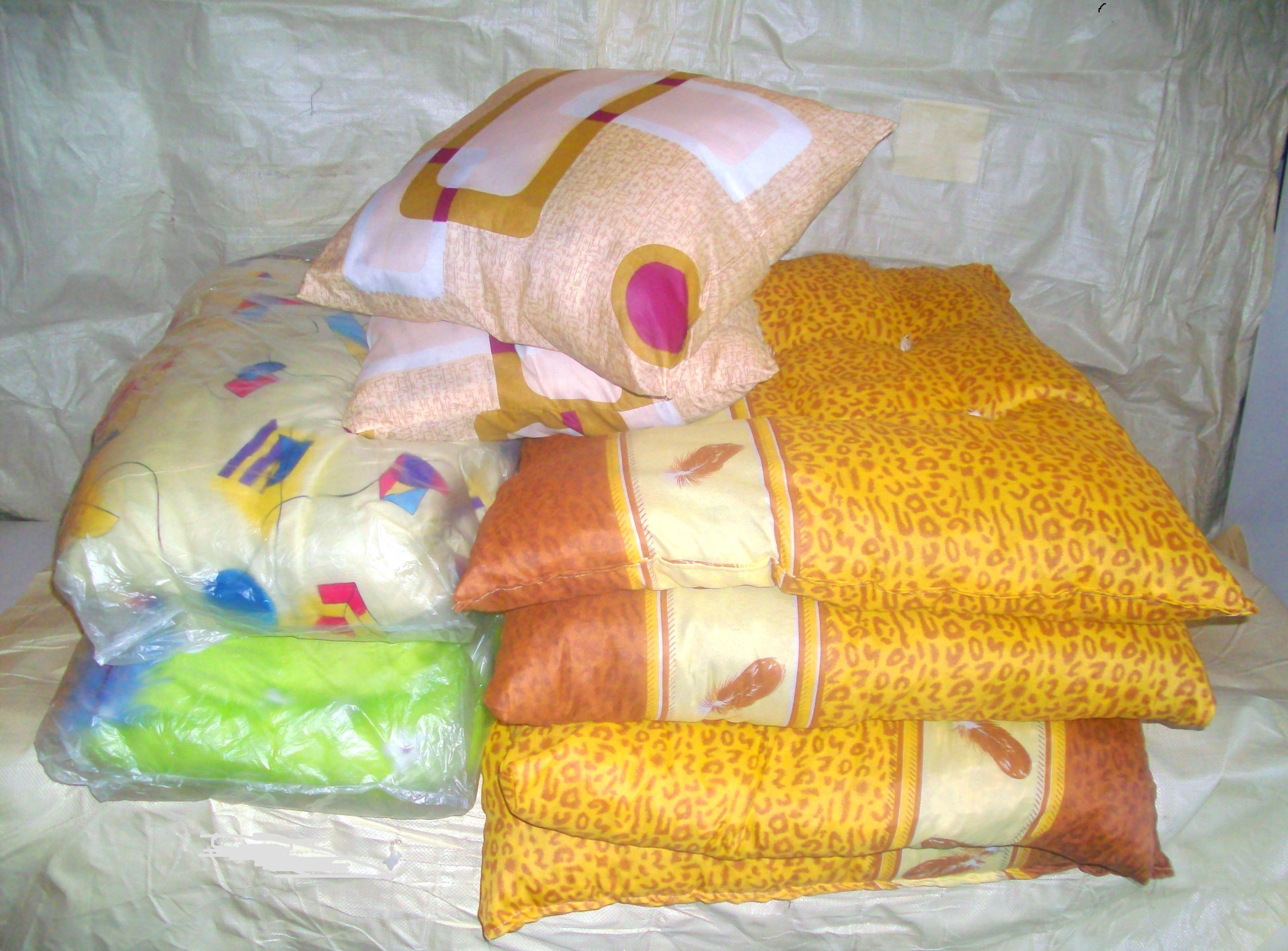 Матрас и подушки