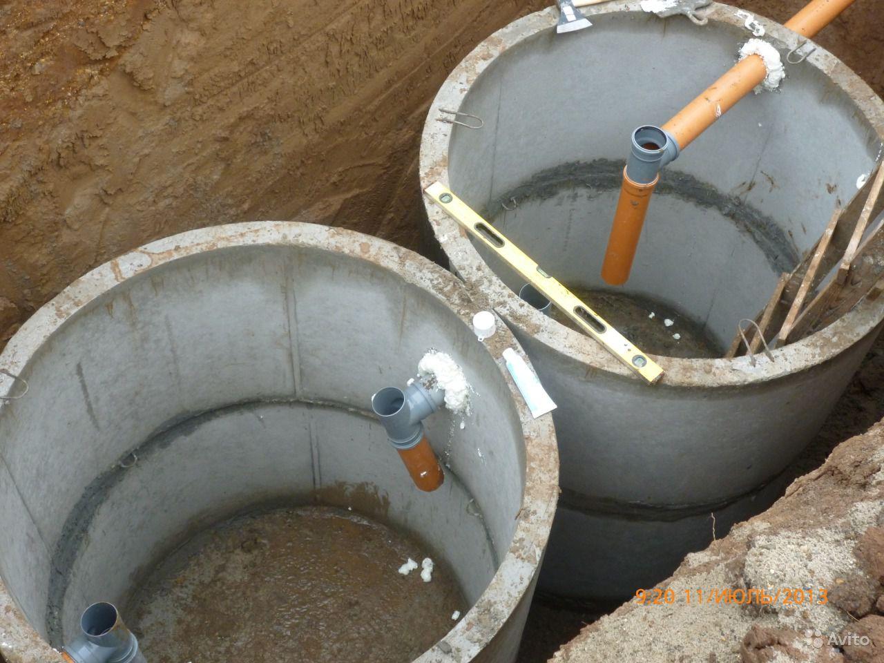 Выгребная яма двухкамерная своими руками
