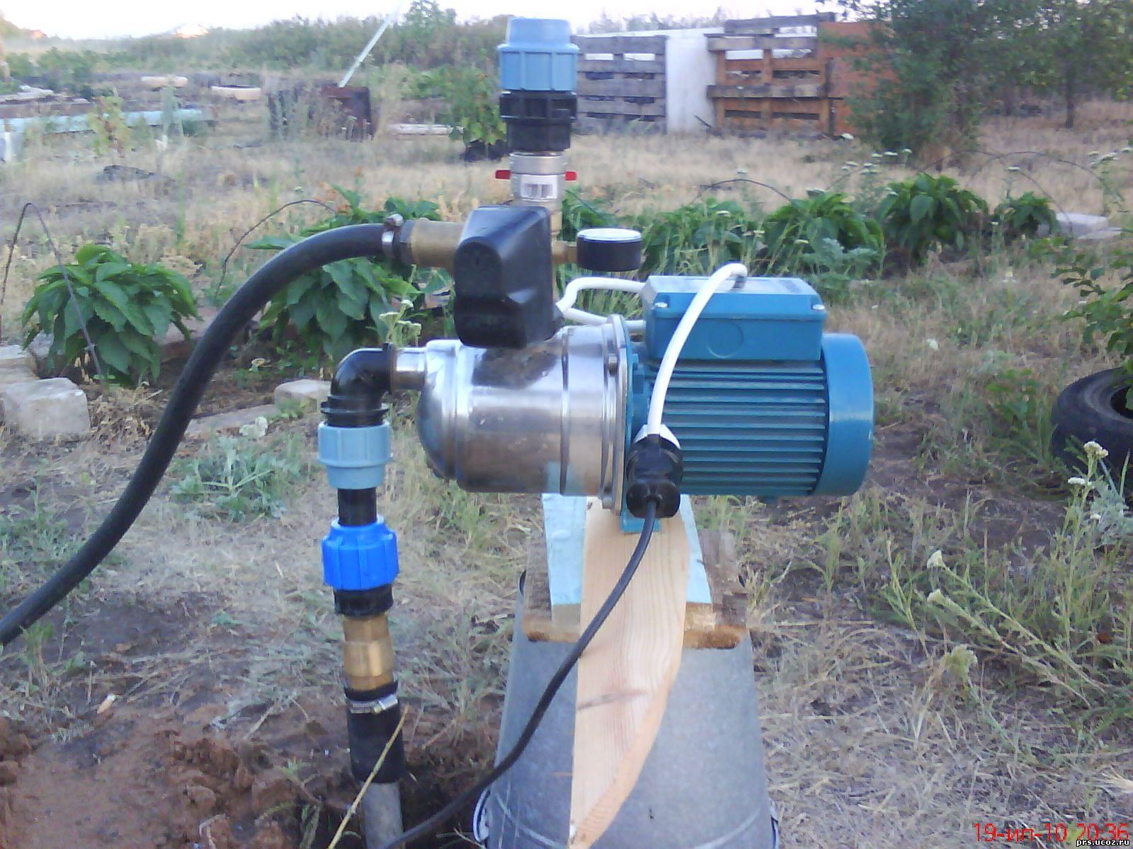 Водяная станция на даче своими руками