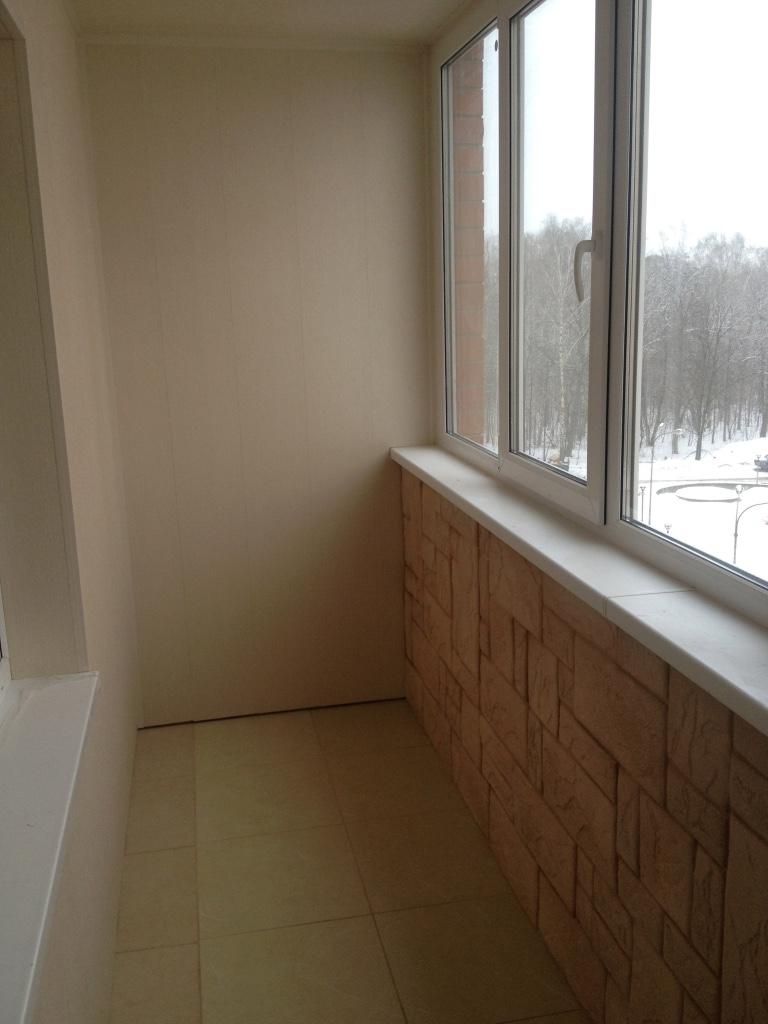Ремонт балконов под ключ . предлагаю отделку балконов и лодж.
