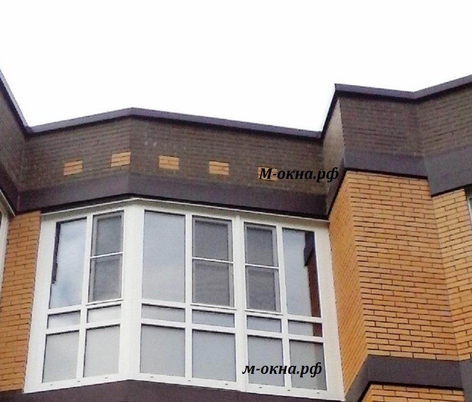 Остекление балконов ,лоджий.окна rehau., 2016-02-13.
