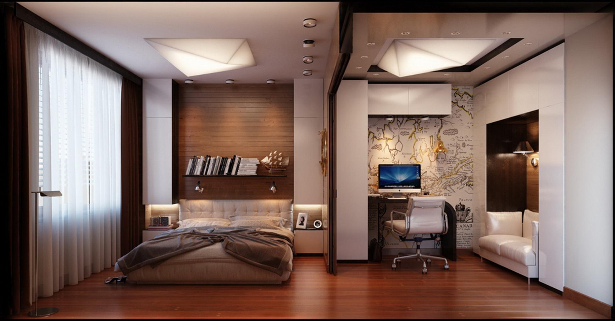 30 стильных мужских спален от лучших дизайнеров мира ежеднев.