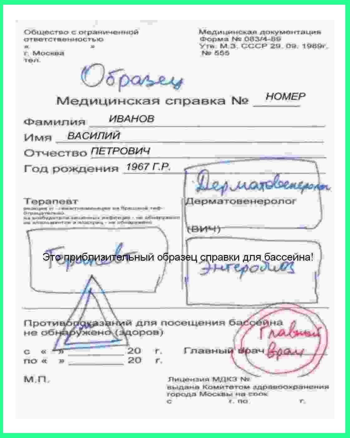Водительская справка Москва Проспект Вернадского тверская