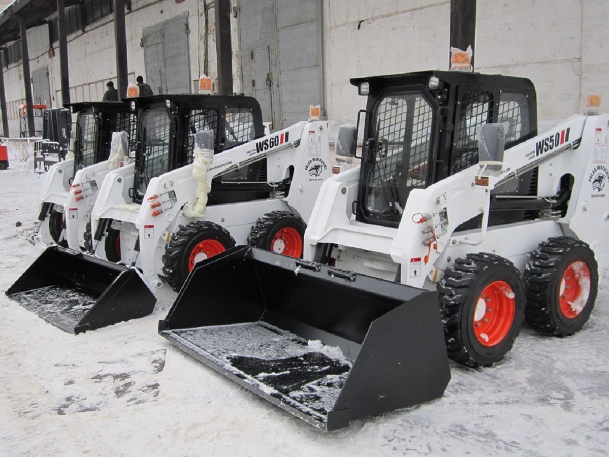 Мини-погрузчик FORWAY WS65 по лицензии BOBCAT