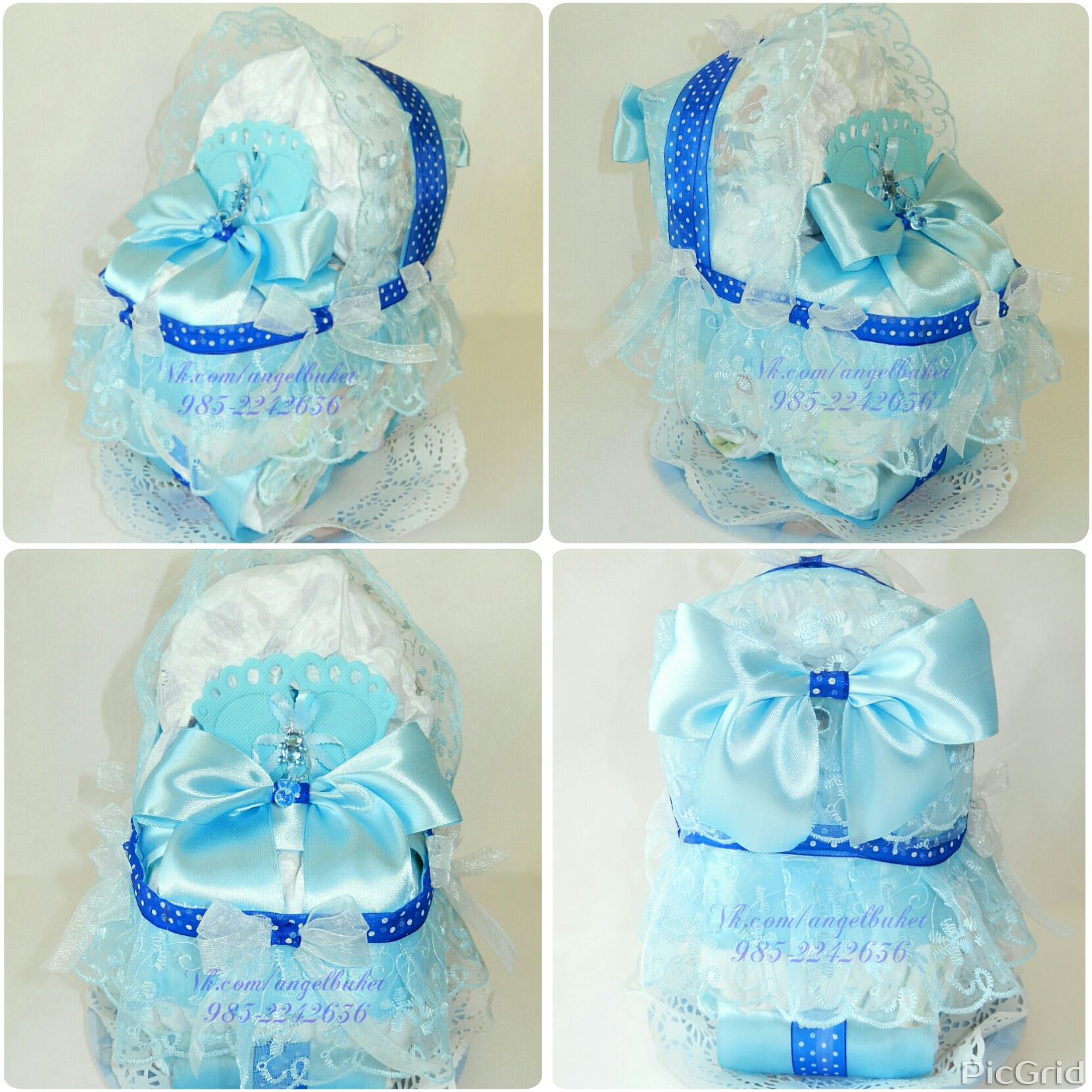 Подарки из памперсов новорожденному