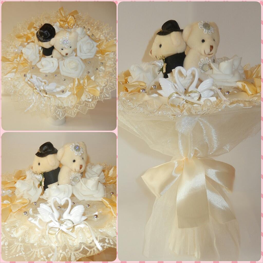 Свадебные букеты для молодоженов в подарок 59