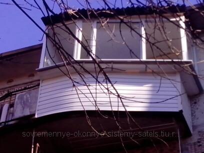 Остекление балконов и лоджий. (г. дмитров), 2014-09-29.