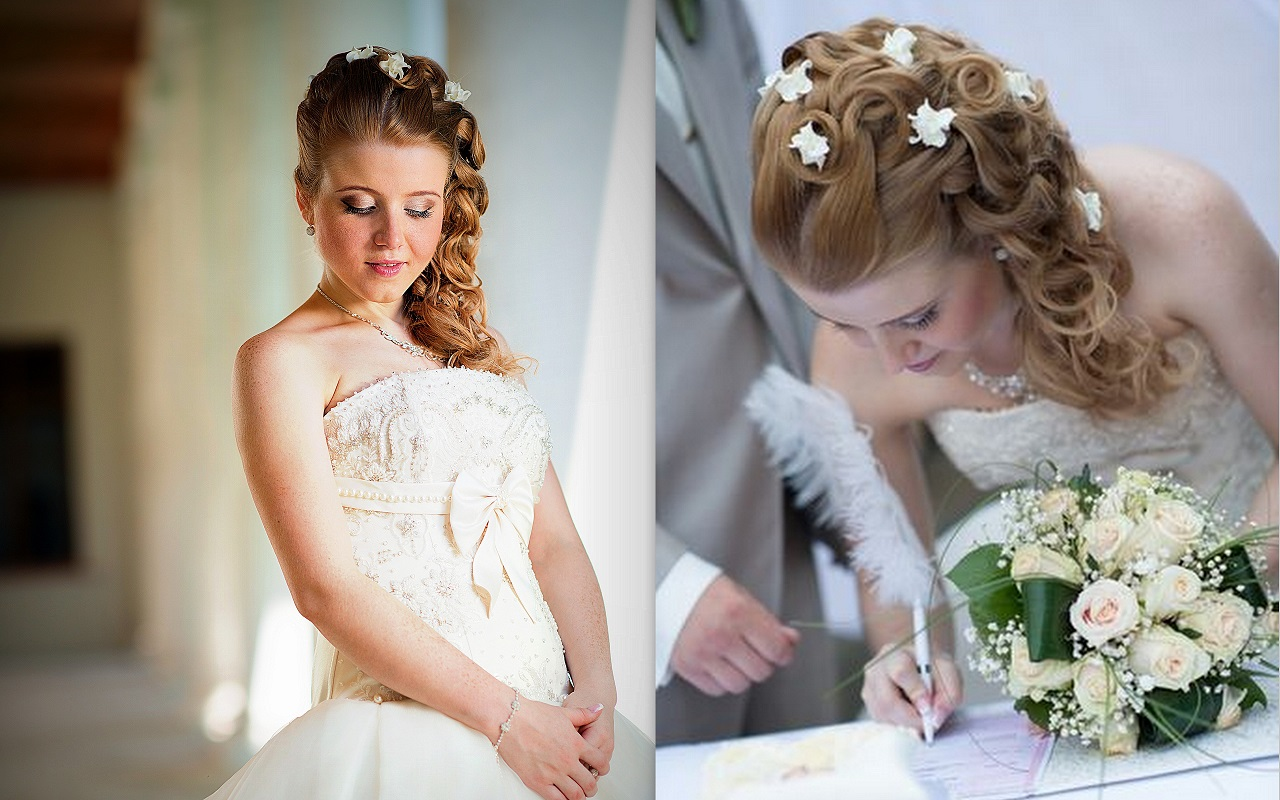 Все о свадьбе и свадебных прическах