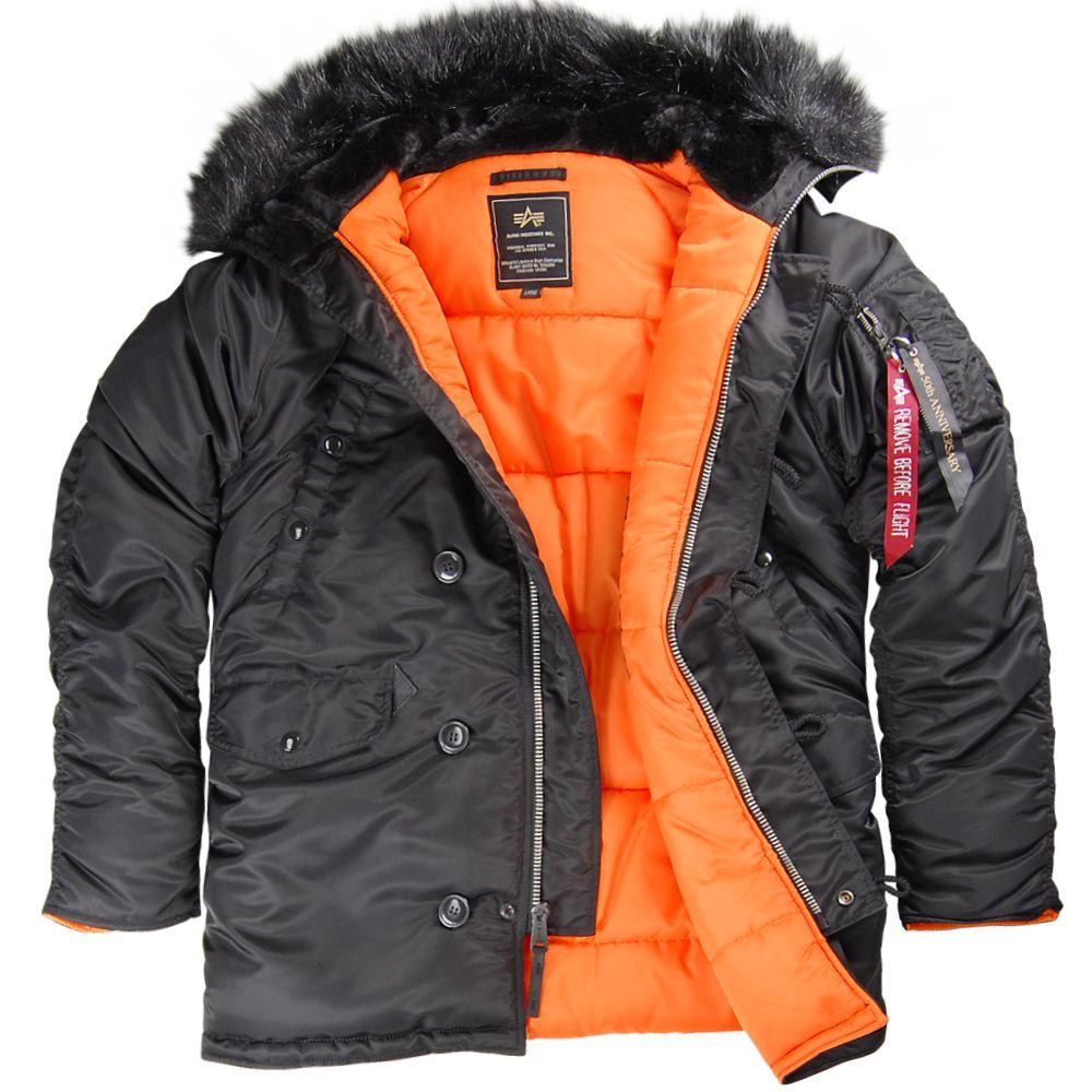 Зимние мужские куртки Аляска (США