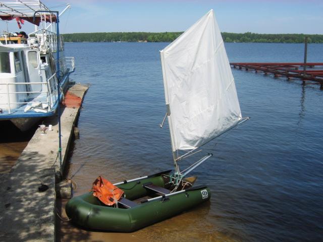 Лодка пвх с парусом своими руками 31