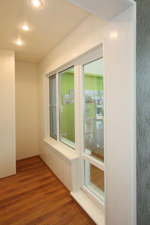 Окна пвх, остекление и отделка балконов, 2015-02-24.