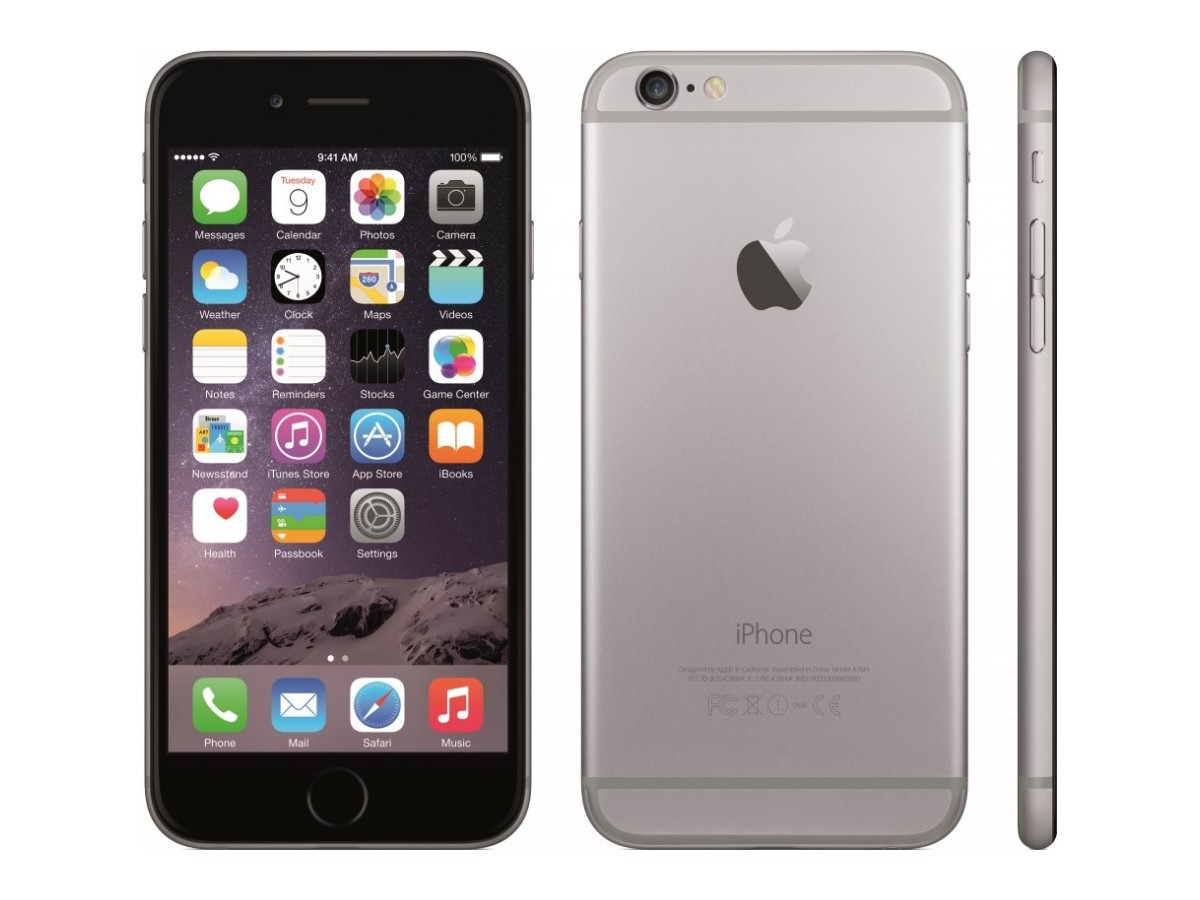 APPLE iPhone 6 Plus 128 ГБ, Space Grey