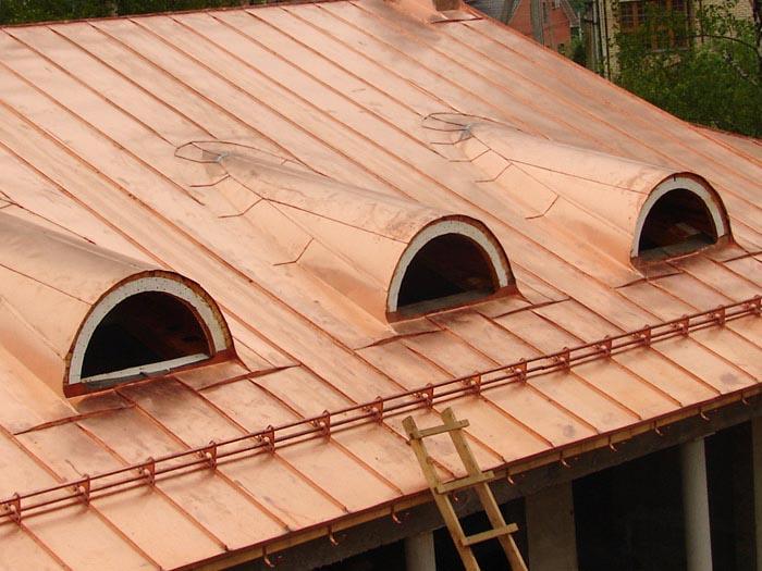 Крыша из нержавейки своими руками